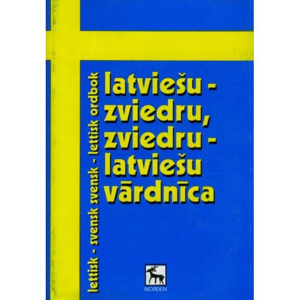 Lettisk svensk - svensk lettisk ordbok