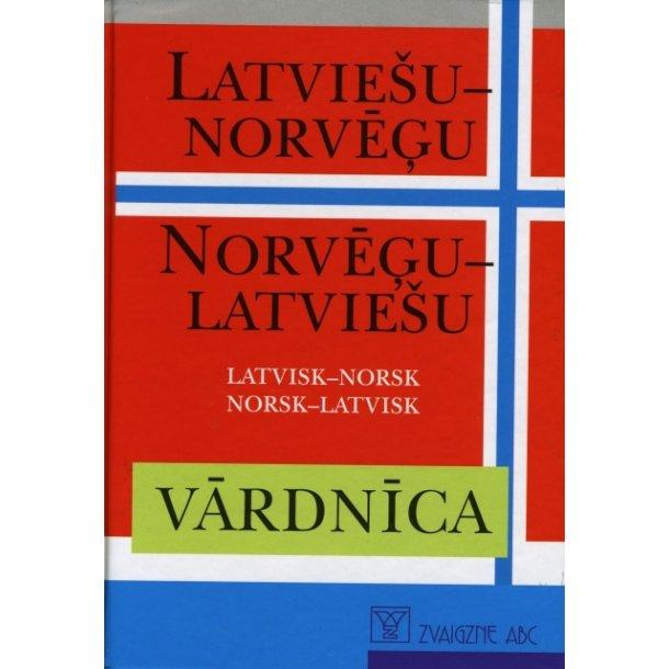 Latvisk Norsk - Norsk Latvisk ordbog