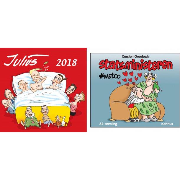 Julius Tegninger 2018 + Statsministeren 2018